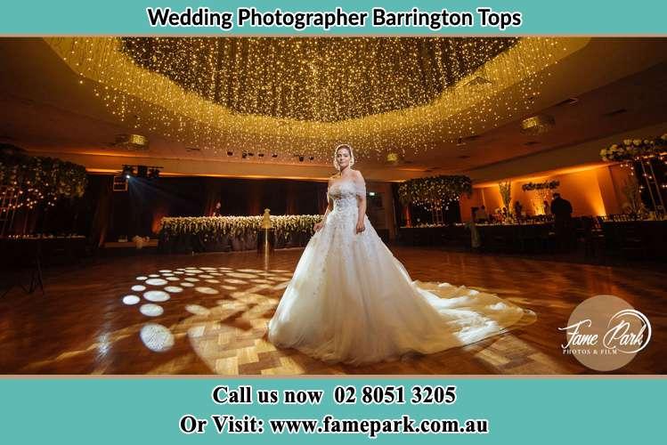 Bride at the dance floor Barrington Tops