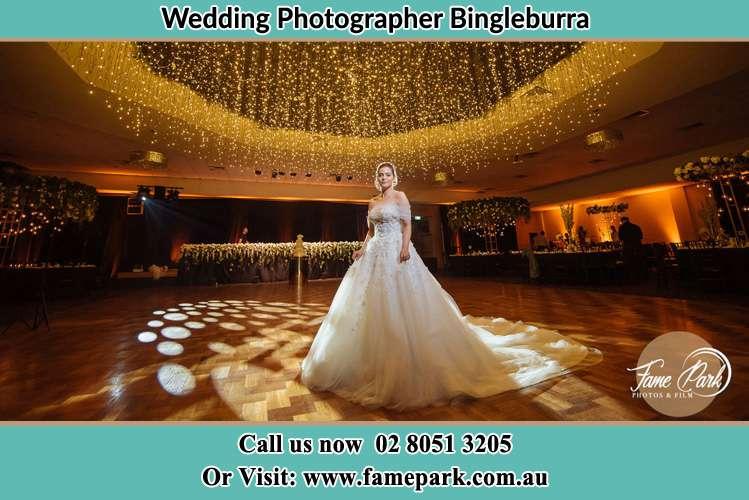 Photo of the Bride on the dance floor Bingleburra NSW 2411