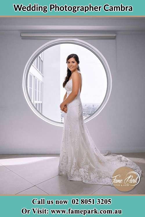 Photo of the Bride near the window Cambra NSW 2420