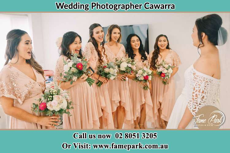The Bride with her Secondary sponsors Cawarra