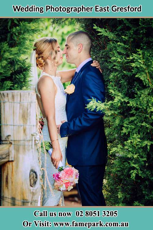 Photo of the Groom and the Bride East Gresford NSW 2311