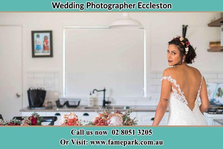 The Bride getting ready Eccleston