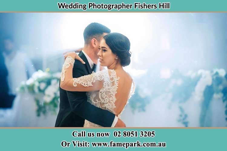 Photo of the Groom and the Bride dancing Fishers Hill NSW 2421