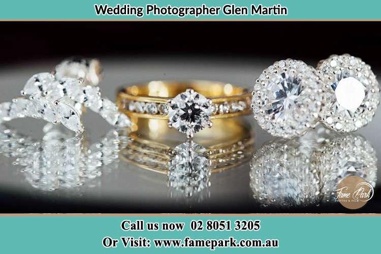 The Brides wedding accessories Glen Martin