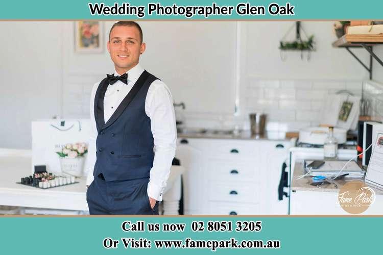 The Groom done preparing Glen Oak