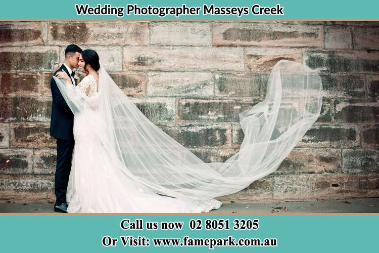 Photo of the Groom and the Bride dancing Masseys Creek NSW 2331
